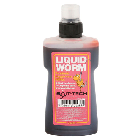 Bait-Tech Liquids 250Ml Liquid Worm Flavourings