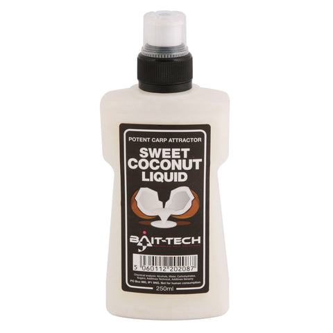 Bait-Tech Liquids 250Ml Sweet Coconut Flavourings