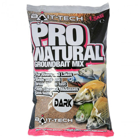 Bait-Tech Pro-Natural Dark Groundbait & Paste