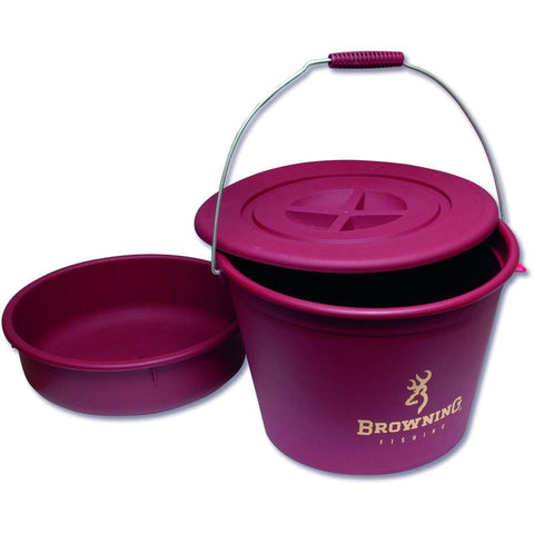 Browning Bait Bucket Set 30L Bait Storage