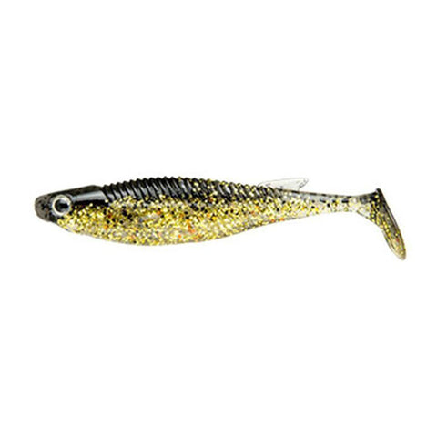 Ecogear Balt Shad 3.5 Inches / 171 Natural Gold/gold Flake Soft Baits