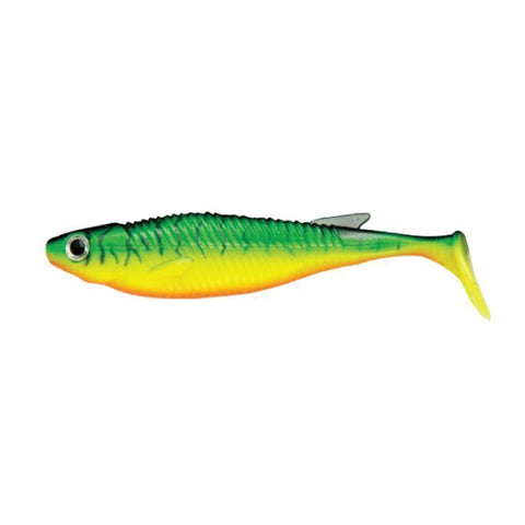 Ecogear Balt Shad 3.5 Inches / 406 Fire Tiger Soft Baits