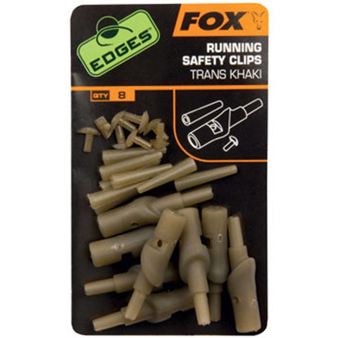 Fox Edges Running Safety Clip Lead Systems Kits