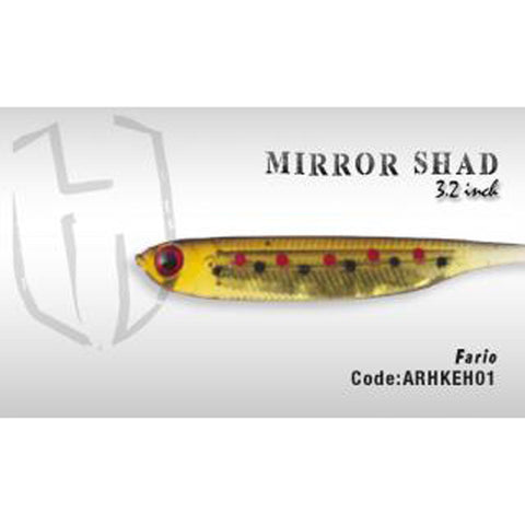 Herakles Mirror Shad 3.2 Inches / Fario Dropshot Lures