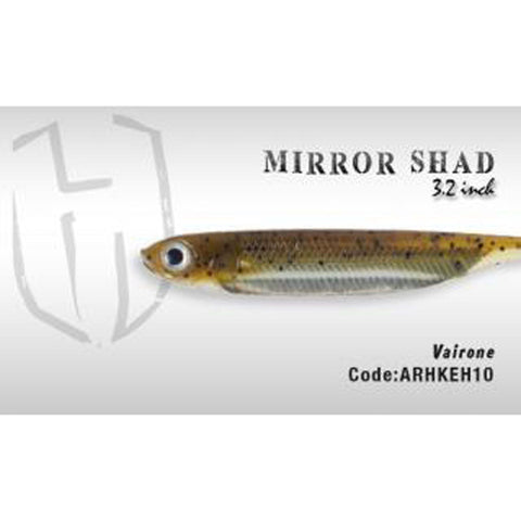 Herakles Mirror Shad 3.2 Inches / Vairone Dropshot Lures