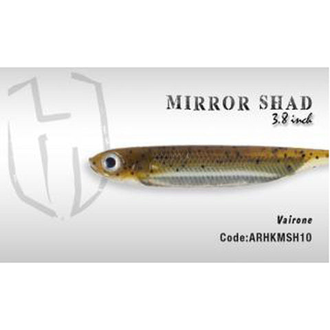 Herakles Mirror Shad 3.8 Inches / Vairone Dropshot Lures