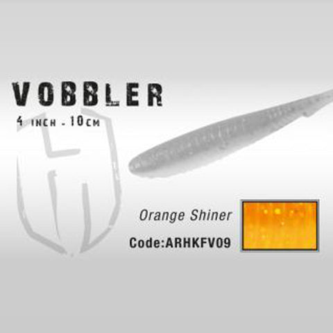 Herakles Vobbler Shad 10Cm / Orange Shiner Dropshot Lures
