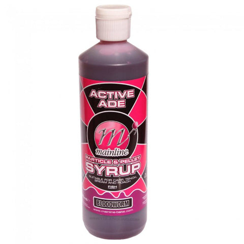 Mainline Active Ade Particle & Pellet Syrup Bloodworm Carp Bait Additives And Sprays