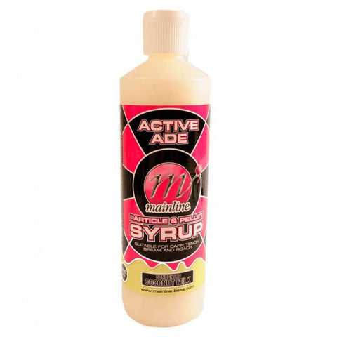 Mainline Active Ade Particle & Pellet Syrup Condensed Coconut Milk Carp Bait Additives And Sprays