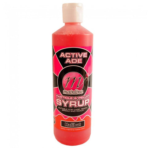 Mainline Active Ade Particle & Pellet Syrup Halibut Carp Bait Additives And Sprays