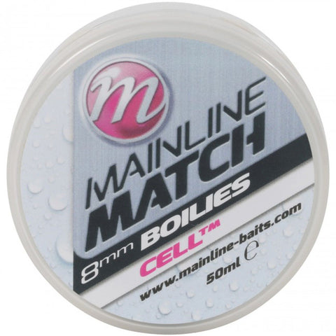Mainline Match Boilies White Cell Pellets &