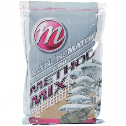 Mainline Match Fine Method Mix Groundbait & Paste