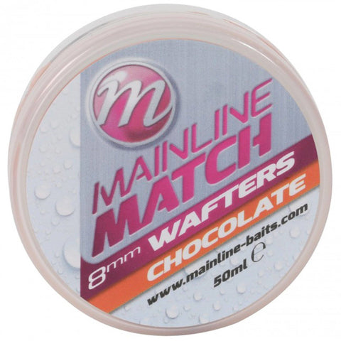 Mainline Match Wafters Orange Chocolate Pellets & Boilies