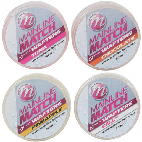 Mainline Match Wafters Pellets & Boilies