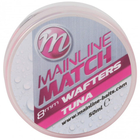 Mainline Match Wafters Pink Tuna Pellets & Boilies