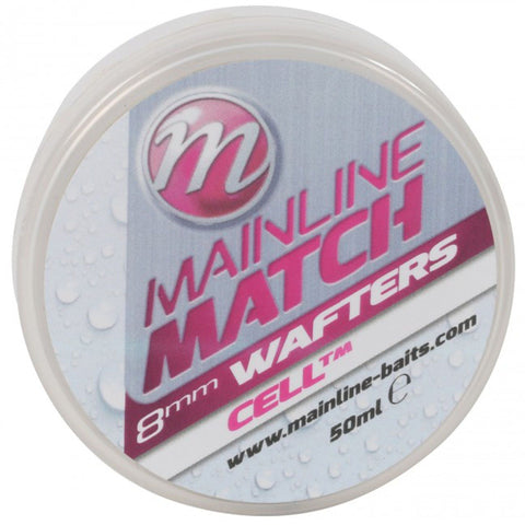 Mainline Match Wafters White Cell Pellets & Boilies