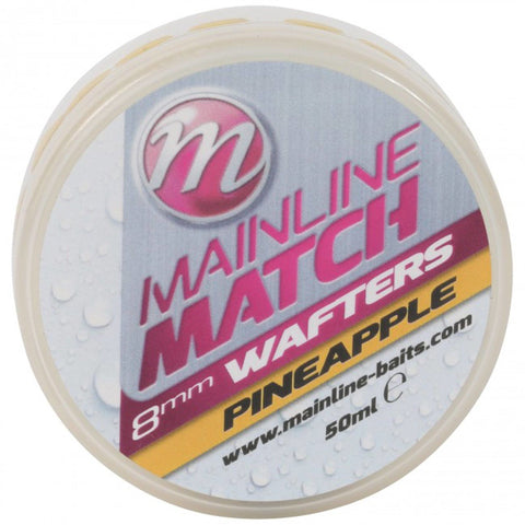 Mainline Match Wafters Yellow Pineapple Pellets & Boilies