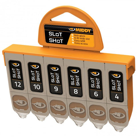 Middy Slot-Shot Dispenser 6-Compartment Shot And Leads