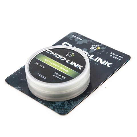 Nash Chod-Link 25 Lb (0.50Mm) Hooklink Materials