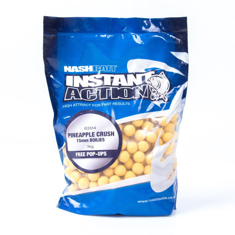 Nash Instant Action Boilies Pineapple Crush 1Kg Carp