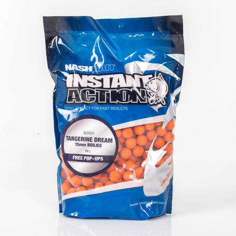 Nash Instant Action Boilies Tangerine Dream 1Kg Carp