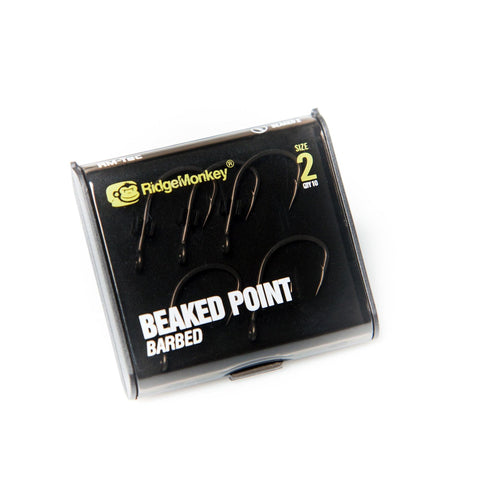 Ridgemonkey Rm-Tec Beaked Point Hook 2 Carp Hooks