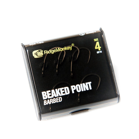 Ridgemonkey Rm-Tec Beaked Point Hook 4 Carp Hooks