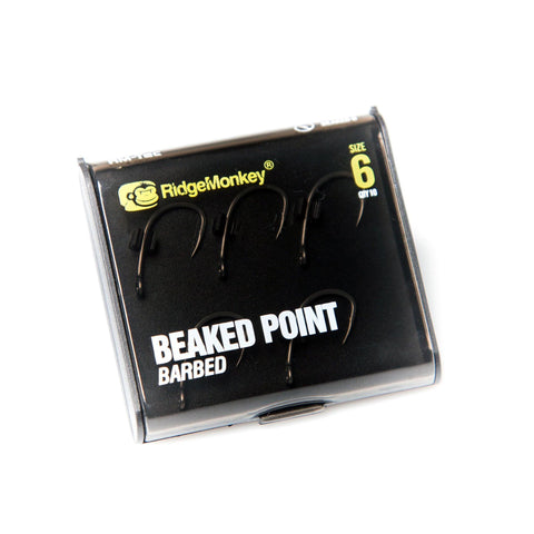 Ridgemonkey Rm-Tec Beaked Point Hook 6 Carp Hooks