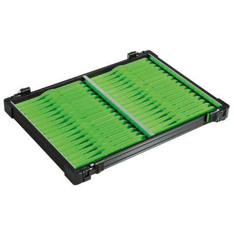 Rive 30Mm Black Tray With 32 Green Winders Seatbox Trays