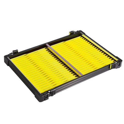 Rive 30Mm Black Tray With 40 Yellow Winders Seatbox Trays