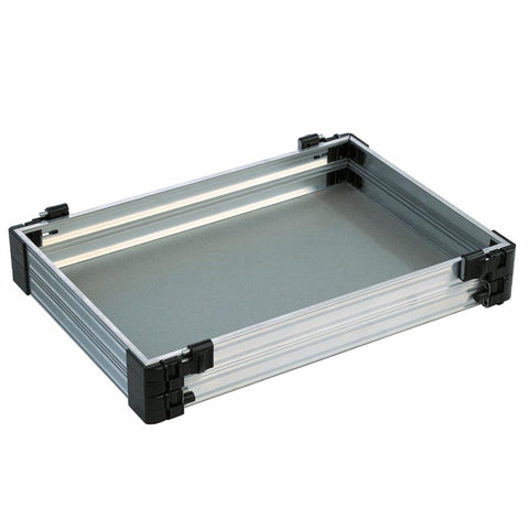 Rive 60Mm Tray Unit Aluminium Seatbox Trays