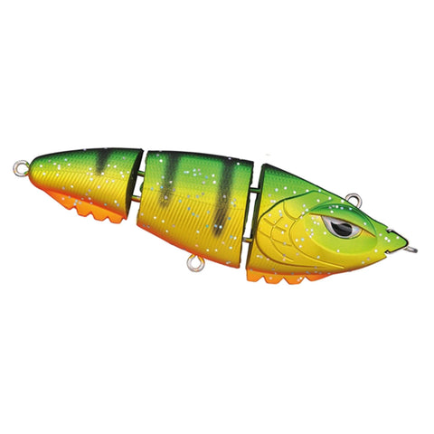 Spro Screamin Baby Triple Devil 90 Swimbait Fire Tiger Flash Swimbaits