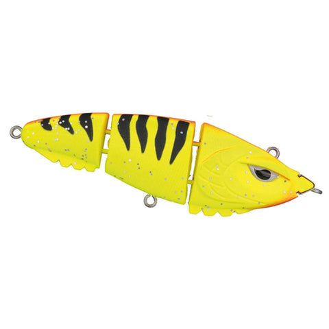 Spro Screamin Baby Triple Devil 90 Swimbait Tiger Flash Swimbaits