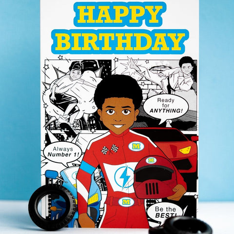 Mosi Birthday Card