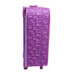 Lela Purple Trolley Case