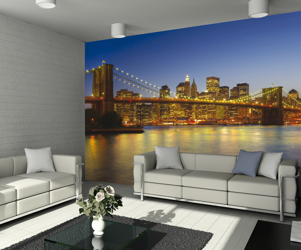 Colour Brooklyn Bridge WALL MURAL 315mx232m 1wall murals