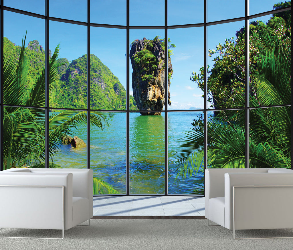 Thailand Window Wall Mural 315mx232m 1wall Murals