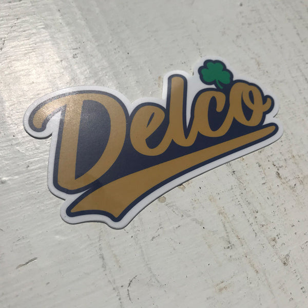 DELCO Irish Sticker