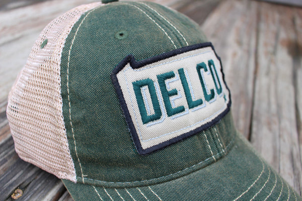 Hat DELCO Bleed Green