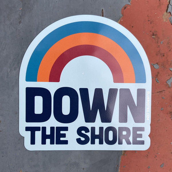 Down The Shore Rainbow Magnet