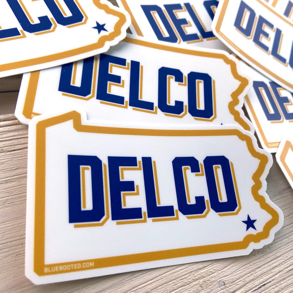 DELCO Cougar Sticker