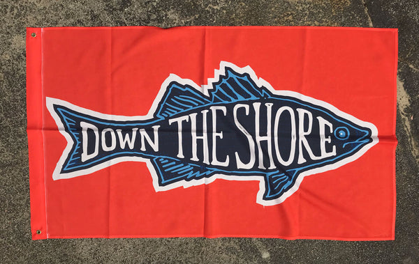 Down the Shore Flag