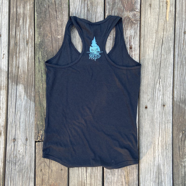 Down The Shore Rainbow Racerback Tank