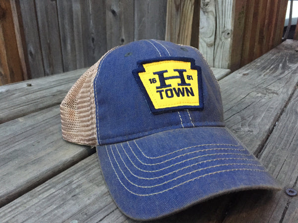 Hat HTOWN blue