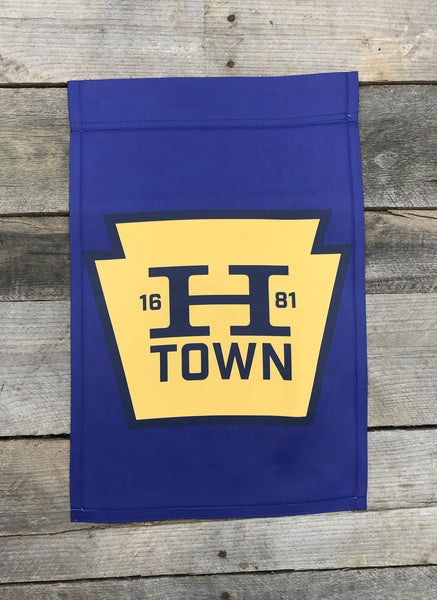 HTOWN Keystone Garden Flag