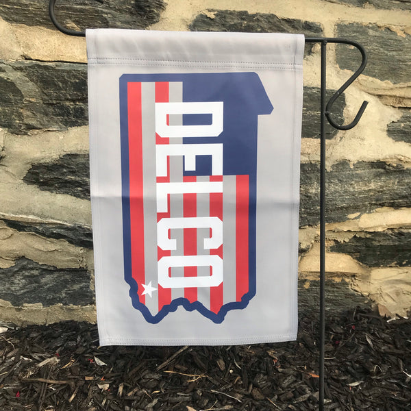 DELCO Star & Stripes Garden Flag