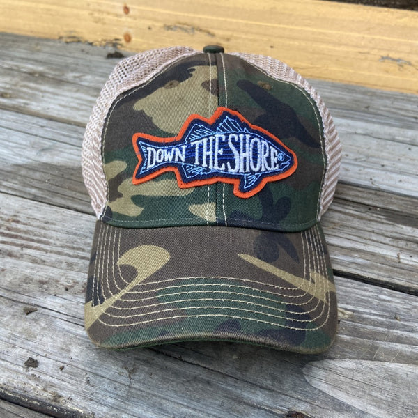 Down The Shore Fish Camo