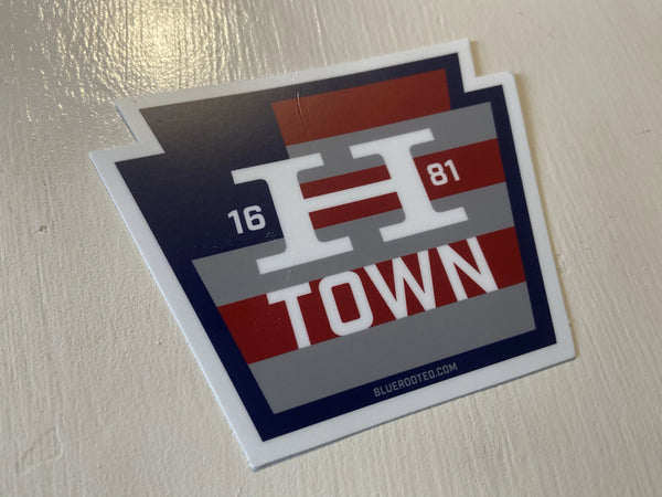 HTOWN Flag Sticker