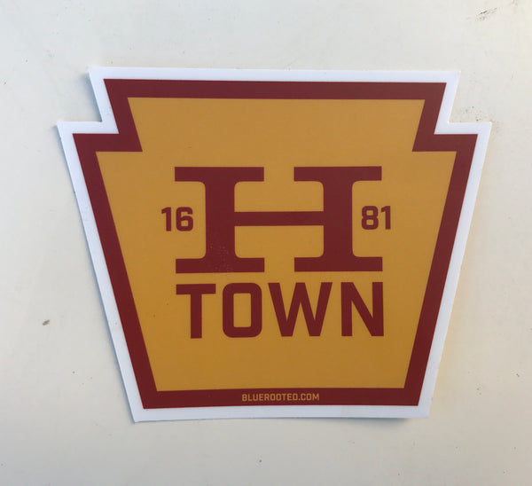 HTOWN Ford Sticker