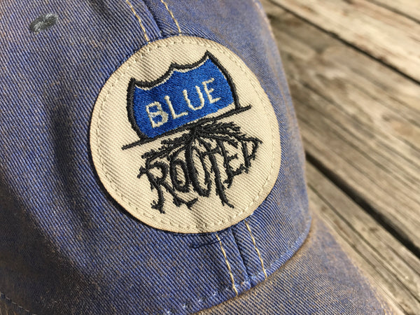 Blue Rooted Hat